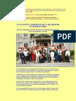 Actualite Modernite Recherche en Homeopathie Pr