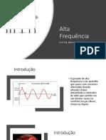 Alta Frequência 2019