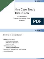 Foundation Case Analysis Dr.R.satish Kumar