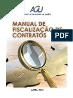 Manual de Fiscalização de Contratos - AGU