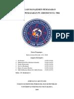 Rencana Pemasaran Pt Sidomuncul Tbk (2)