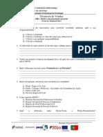 Ficha de direito e documentação comercial