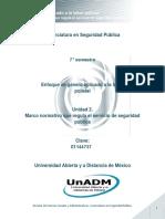 Unidad 2. Marco Normativo Que Regula El Servicio de Seguridad Publica