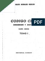 Código Civil Boliviano Comentado de Morales Guillén T I