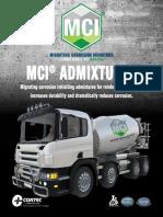 MCI Admixture 01-2016
