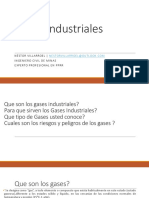 Gases Industriales