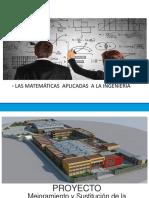 Presentacion Las Matemáticas en La Ingenieria