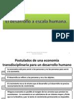 Desarrollo Aescala Humana Max Neef