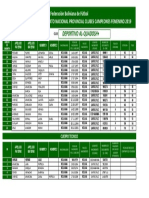 Lista Oficial DEL CLUB DEPORTIVO AL-QUADOSH+