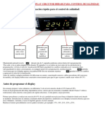 Programacion Basica Display Circutor Dhb Salinidad