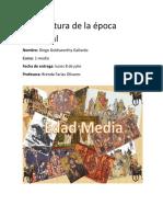 La Literatura de La Época Medieval