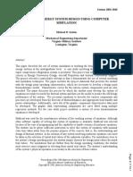 Teaching Energy System Design Using Computer Simulation