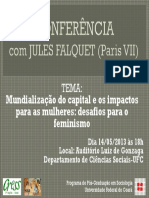 Conferência Jules Falquet