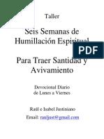 Manual 6 Semanas Humillacion , Digital, 7 Junio 2014-1[1]