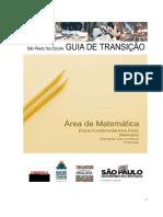 Guia de Transição - Matemática - Ensino Fundamental - 2º Bimestre
