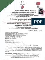MACN-R000000427_Default Notice to Affidavit of Allodial Secured Land Property Repossession Written Statement - Nonresponse Notification