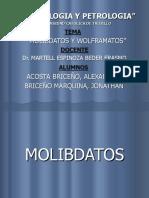 MOLIBDATOS Y WOLFRAMATOS.ppt