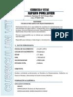 Curriculum 2019 Javier