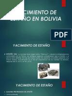 Yacimiento de Estaño en Bolivia
