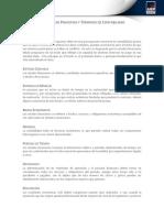 Glozario de Principios y Terminos de La Contabilidad.