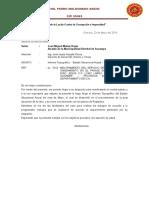 Pedro Maldonado Saenz Informe Pasaje Santa Teresa de Jesús