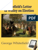 Whitefield's Letter to Wesley o - George Whitefield