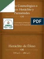 Heraclito vs  Parmenides