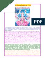 Vaibhava Lakshmi Vrata