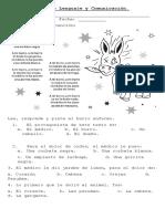 Guía de Lenguaje y Comunicación Tercero