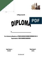 Diploma Participacion