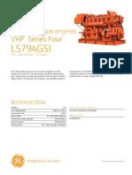 Waukesha L5794GSI Gas Engine