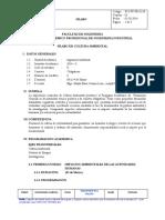 Silabo 2015-2 Cultura Ambiental