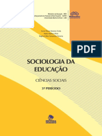 Sociologia Da EducacaoUNIMONTES