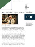 Bergmanorama por Jean Luc Godard