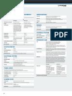 MHL360 Technical Data
