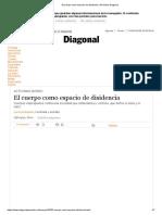 El cuerpo como espacio de disidencia _ Periódico Diagonal