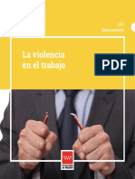 LA VIOLENCIA EN EL TRABAJO