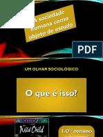 Aula 1 - O Que é Sociologia