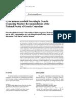 Lectura 8. Cystic Fibrosis Prenatal Screening...