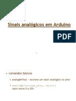 Sinais analógicos em Arduíno.ppt