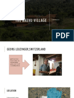 Case Study on Beavu the Village