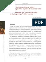 Batallas doctrinarias. Guerra, política y estrategia en los orígenes de la ciencia militar