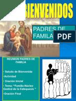 I Reunion Padres Familia Catequesis