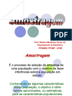 Amostragem - apresentação
