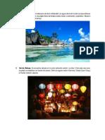 Lugares turísticos del Continente Asiático