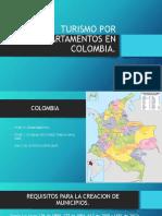 Turismo Por Departamentos en Colombia