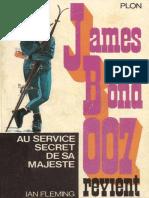 10 Au Service Secret de Sa Maje - James Bond - Ian Fleming
