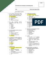 Contabilidad VII Parcial Sistemas Informacion
