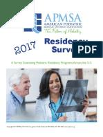 APMSA Resideny ReportsExtern Advice