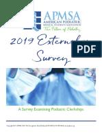 2019 Externship Survey 07242019 FINAL